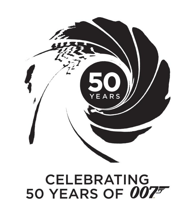 Bond 50 007 Logo