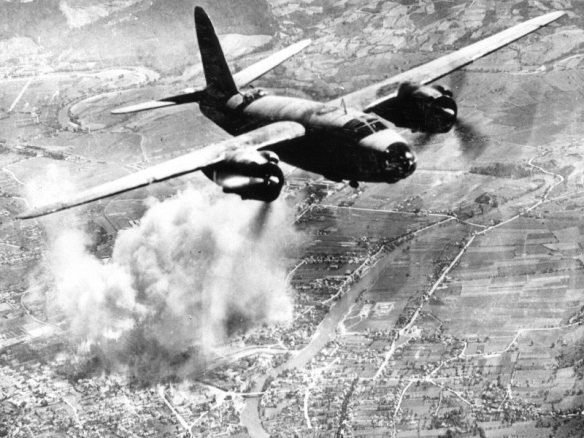 Royal Air Force Martin Marauder over Banja Luca