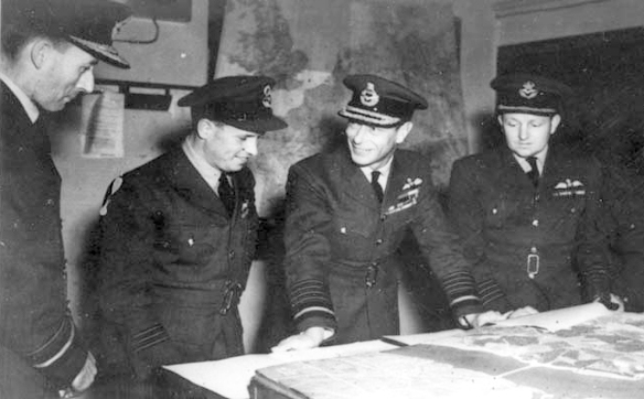 76. Cochrane, Gibson, King George VI -Dam Buster Raid