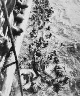 HMS Dorsetshire Picking Up Bismarck Survivors