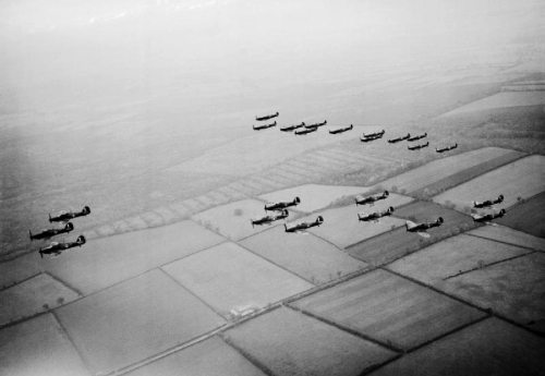 Hurricanes and Spitfires October 1940