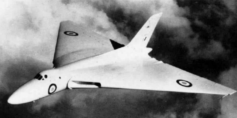 Avro Vulcan Prototype XV770