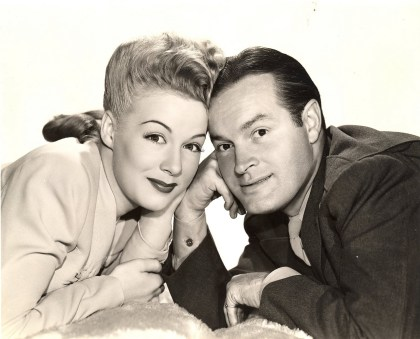 Bob Hope and Betty Hutton