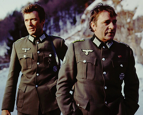 Richard Burton and Clint Eastwood - Where Eagles Dare