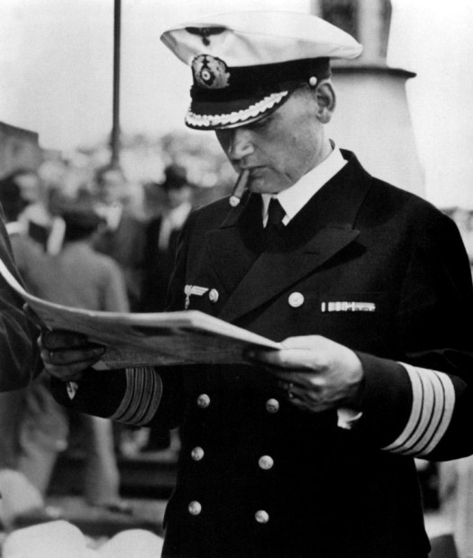 Captain Hans Wilhelm Langsdorff, Admiral Graf Spee