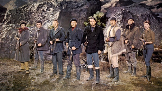The Guns of Navarone - Cast