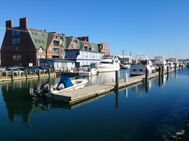 Harbour Side, Portland, Maine