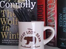 The Great Lost Bear, Mug (on my bookshelf)