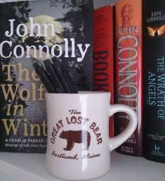 The Great Lost Bear, Mug (on my bookshelf)