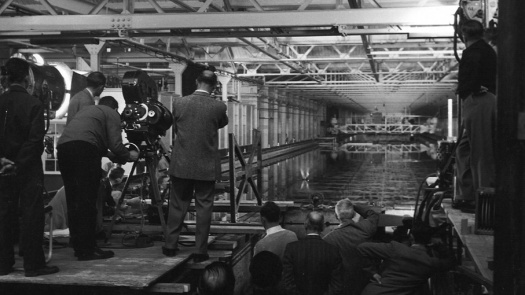 Filming Dam Busters