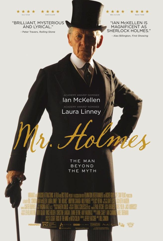 Mr Holmes Poster 2